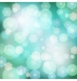 Abstract background with bokeh lights vector image vector image