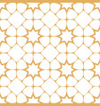 abstract seamless pattern in arabian style vector image vector image