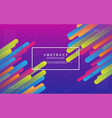 colorful modern abstract background vector image