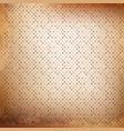 grunge polka dot background vector image vector image