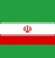 iranian national flag vector image