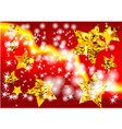 red festive background vector image vector image
