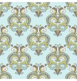 seamless vintage damask luxury pattern vector image