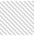 3d seamless wavy pattern vector image