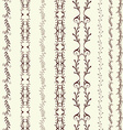art line border vector image vector image