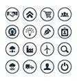 B2B icons universal set vector image vector image