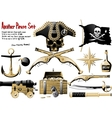 Big Pirate Set vector image