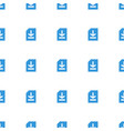 file icon pattern seamless white background vector image vector image