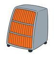 heater vector image