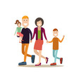 people and relations concept flat vector image vector image