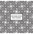 seamless pattern with simple geometric concept vector image vector image