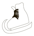 Skates icon outline style vector image vector image