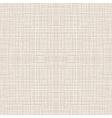 Seamless Natural Linen Pattern vector image
