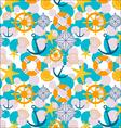 sailor cartoon pattern vector image