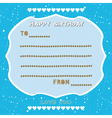 Birthday card5 vector image vector image
