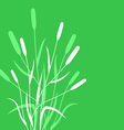 grass back vector image vector image