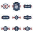 Independence Day realistic festive Banners Set vector image vector image