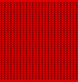 knitting texture seamless pattern design vector image