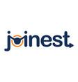 letter joinest emblem vector image
