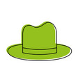 normal hat icon image vector image vector image