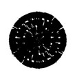 round grunge stamp vector image vector image