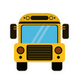 school bus transport design vector image vector image