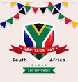 South africa heritage day - 24 september - square