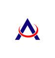 a company logo template design vector image vector image