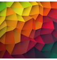 abstract colorful patches background vector image