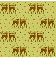 background with deers vector image vector image