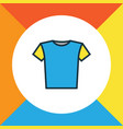 blouse colorful outline symbol premium quality vector image vector image