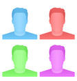 creative of default avatar vector image vector image