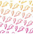degraded line nice light thunder art background vector image vector image
