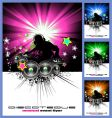 Disk jockey music background vector | Price: 3 Credits (USD $3)