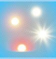 realistic sun vector image
