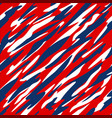 red white and blue patriotic seamless pattern vector image