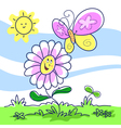 spring cartoon vector image vector image