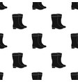 yellow rubber waterproof boots for women to work vector image vector image