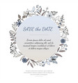 invitation or greeting card vector image vector image