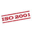 ISO 2001 Watermark Stamp vector image