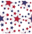Seamless patterns with American symbols vector image vector image