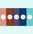 set elegant seamless colorful geometric vector image vector image