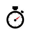 speedometer abstract symbol of speed vector image