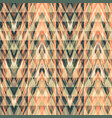 abstract seamless pattern with geometric elements vector image vector image