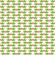 Christmas decorative pattern vector image vector image