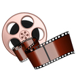 film roll and strip isolated vector image vector image
