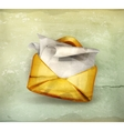 Letter old-style vector image