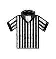 referee tshirt wear vector image vector image