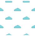wet cloud pattern flat vector image vector image