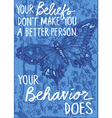 butterfly wisdom vector image vector image